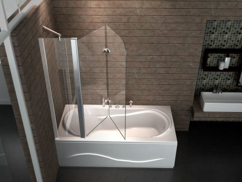 glas duschwand badewanne my blog. Black Bedroom Furniture Sets. Home Design Ideas